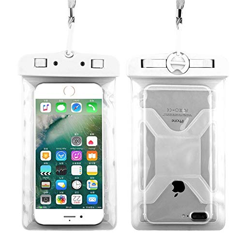 1 piece KISSCASE IPX8 Waterproof Case For iPhone X 9 7 6 5S XS Swimming Diving Phone Bag Cover Cases for Samsung Note 9 S9 S8 A5 A7 (Mlb Glass Candy)