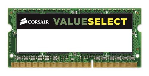 Corsair CMSO8GX3M2C1600C11 8GB (2x4GB) 1600MHz PC3-12800 204-Pin DDR3 SODIMM Laptop Memory 1.35V