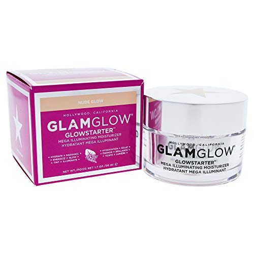 Glamglow Glowstarter Mega Illuminating Moisturizer – Nude Glow By Glamglow for Unisex – 1.7 Oz Cream, 1.7 Oz