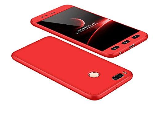 Xiaomi Mi A1/Xiaomi Mi 5X Funda - BCIT Funda Xiaomi Mi A1/Xiaomi Mi 5X 360 Grados Integral Para Ambas Caras + Cristal...