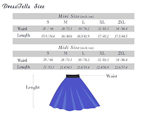 Mini vase Black en midi Jupe Courte Polyester Dresstells UqPTpw61