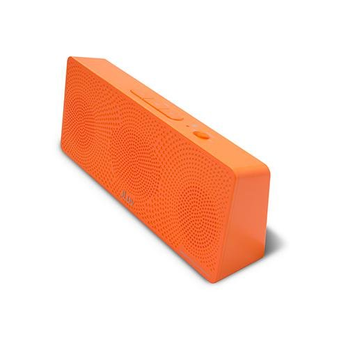 iLuv MobiTour Wireless Bluetooth Speaker for All Bluetooth Devices(iPhone 6 / 5S / 5C / 5 / iPad Air / Galaxy Phones)(Orange Neon)
