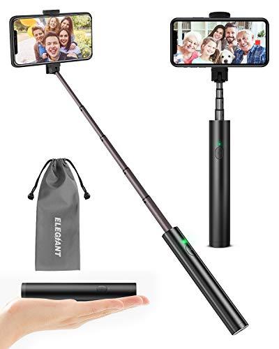 ELEGIANT Selfie Stick, Aluminium Alle-in-EIN Selfiestick Bluetooth Selfie...