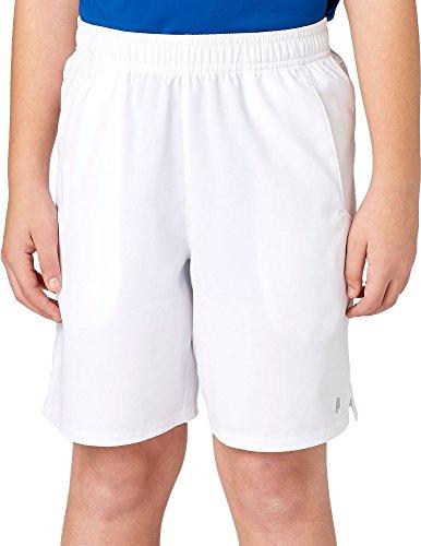 Prince Boys' Match Woven Shorts (L, White) -