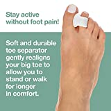 ZenToes Gel Toe Separators for Overlapping