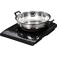 Tayama TIH-1500X Induction Cooker with Cooking Pot (Black)