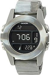 Nixon Men's 'Unit' Plastic and Silicone Automatic Watch, Multi Color (Model: A1972150-00)