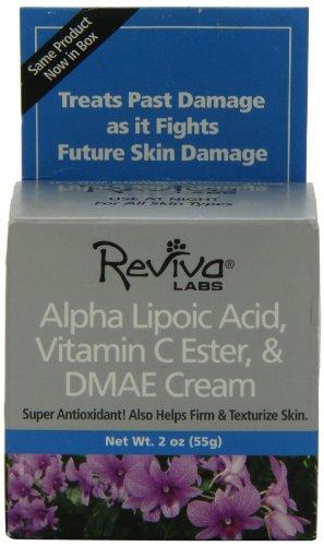 Reviva Labs Alpha Lipoic Acid Vitamin C Ester and DMAE Cream -- 2 oz
