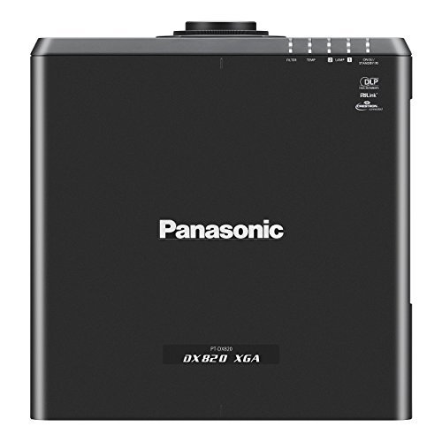 8200 Projectors (Panasonic PT-DX820BU | 8200 Lumens XGA Installations Projector With Lens Black)