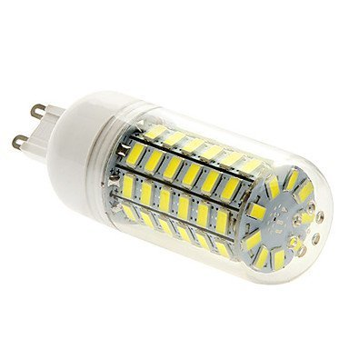 G9 15W 69x5730SMD 1500LM 6000-6500K White Light LED Corn Bulb (220-240V