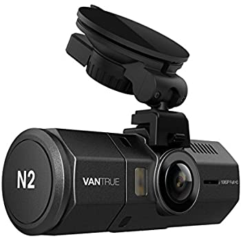 "[UPGRADED] Vantrue N2 Dual Dash Cam - 1080P Front and Rear Dual Lens Car Camera 1.5"" Near-360° Wide Angle Dashboard Camera Car DVR Video Recorder w/ Parking Mode, Motion Detection & Super Night Vision"