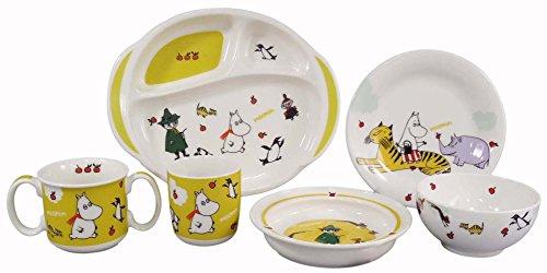 MOOMIN Moomin children tableware arrange set MM140-301 by YamaKa shopping