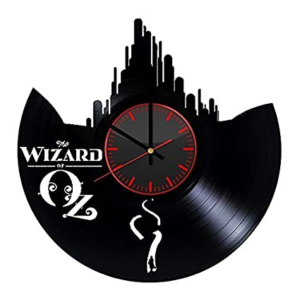 The Wizard of Oz Dorothy Adventures Design Vinyl Record Wall Clock Unique gifts for him her