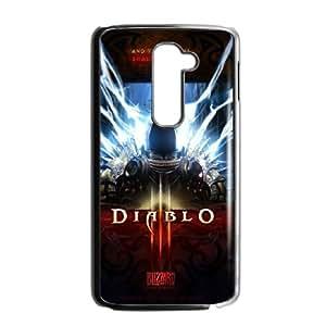 LG G2 Cell Phone Case Black Diablo S0407500