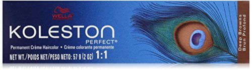 Wella Koleston Perfect Hair Color, 6/74 Dark Blonde/Brown Red, 2 Ounce