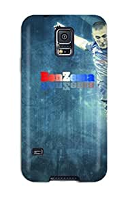 First-class Case Cover For Galaxy S5 Dual Protection Cover Karim Benzema