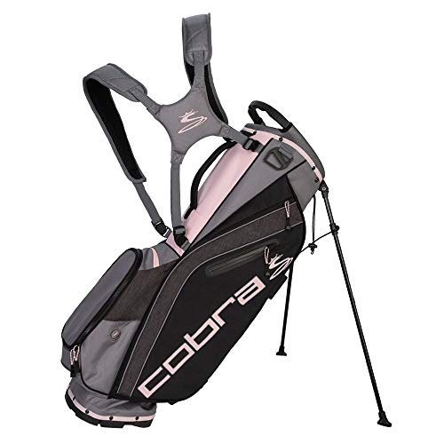 (Cobra Golf 2019 Ultralight Stand Bag (Black-Pink))