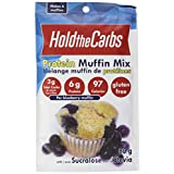 HoldTheCarbs Low Carb Protein Muffin Mix with Sucralose, 80g