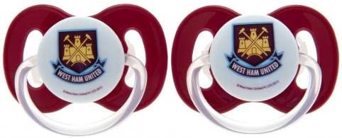 West Ham United F.c Soothers Official Merchandise Baby Dummies Fc Football