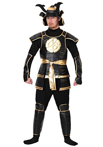 Men's Imperial Samurai Warrior Costume X-Large Black