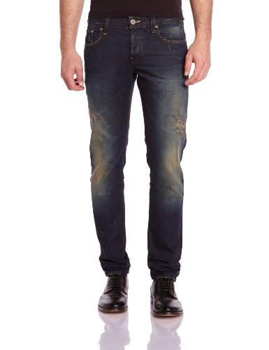G-star - Jean - 3301 - Tapered - Regular Fit - Homme -   Bleu (dk aged destroy 5166-3144) W32/L34