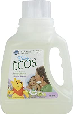 Earth Friendly Products Baby Ecos Laundry Detergent, Lavender and Chamomile, 50 Ounce by Earth Friendly Products