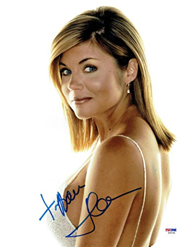 Tiffani Amber Thiessen Signed Sexy Authentic Autographed 11x14 Photo PSA/DNA #2
