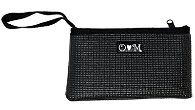 OlovesM Clutch Purse with Strap Re-Purposed Yoga Mat – Eco-Friendly Handbag – Vegan Purse – Handmade in the USA