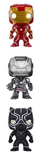 Funko Captain America 3 POP! Marvel Action Figure Collectors Set