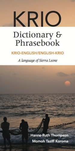 Krio-English/English-Krio Dictionary & Phrasebook