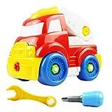 Zeshlla Gift Kid Child Baby Disassembly Assembly Cartoon Dump Truck Toy