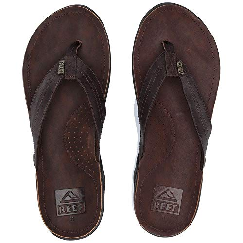 (Reef Men's Reef J-Bay III Sandal, Dark Brown, 13 M US)