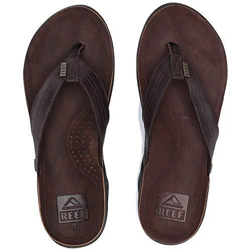 (Reef Men's Reef J-Bay III Sandal, Dark Brown, 13 M US)