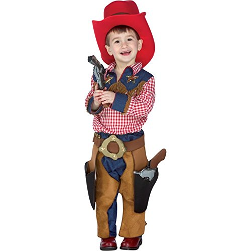 Toddler Texas Cowboy Costume Size: Toddler 2T-4T (Cowboy Outfit Kids)