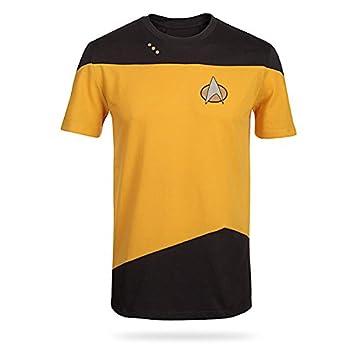 Star Trek TNG Comando Uniforme camiseta - pequeño: Amazon.es ...