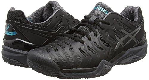 Gris 9095 Noir 7 Chaussures resolution De Fonc Asics Hommes Lapis noir Gel Tennis xxAqRzwf
