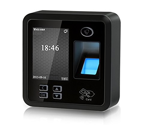 Amazon.com : 2 Puertas Bio Fingerprint / RFID Sistema de Control de Acceso y 600LBS Electromagnético Sensor de Movimiento Salida 110V Fuente RFID Llaveros ...