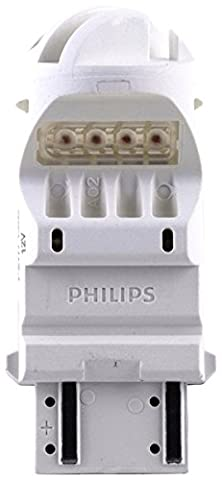 Philips 12840REDB2 Intense Red Vision LED Stop/Tail light, 2 Pack (2002 Ford Focus Brake Light)