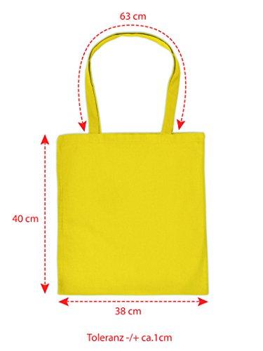 Lustige Geschenktasche für Weihnachten : X-MAS Mitze -- Baumwolltasche Weihnachten Farbe: gelb tuSch8
