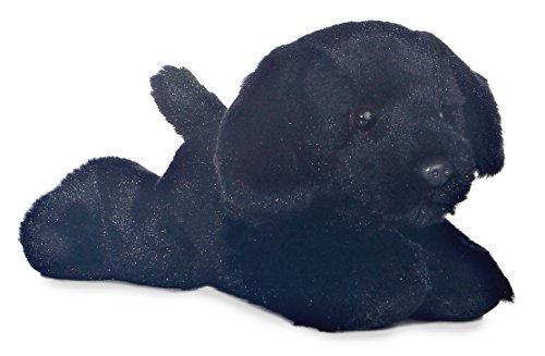 Mini Flopsie Black Black Lab 8