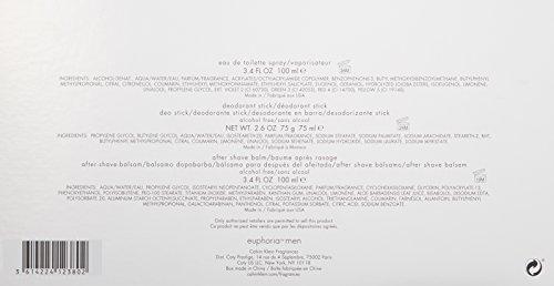 Calvin Klein 3 Piece Euphoria Men's Gift Set