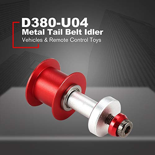 ALZRC - Devil 380 Fast Metal Tail Belt Idler D380-U04 Helicopter Accessories Parts Component & Durable