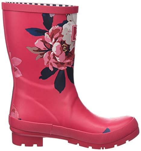 Welly Joules Gomma Bircham Rspbblm raspberry Bloom Pink Stivali Donna Di Molly PFwF5Uq