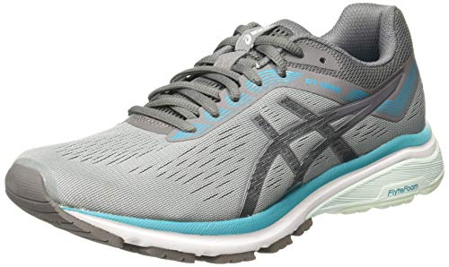 Asics GT-1000 7 D [1012A029-020] Women Running Shoes Grey/Turquoise / 26.5 cm (Asics Wrestling Shoes Womens)
