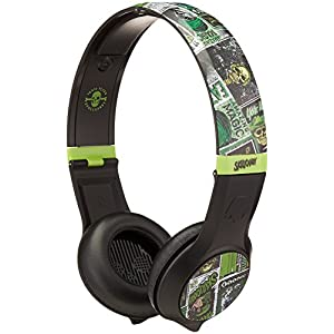 Skullcandy Cassette Headphones w/Mic Lurker Toxic Flyer (2012 Color), One Size