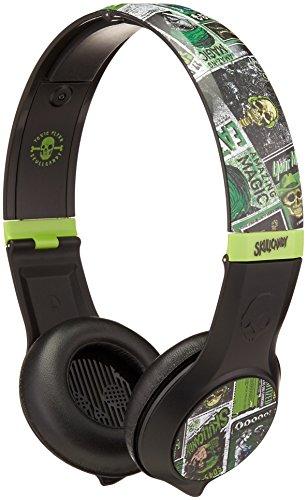 Skullcandy Cassette Headphones w/Mic Lurker Toxic Flyer , On
