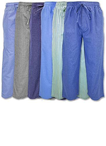 (Andrew Scott Boys 6 Pack Woven Pant (Large 14-16, 6 Pack - Assorted Classic Plaids))