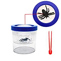 YYhappy childhood Nature Exploration Toys Critter Cage 8X Magnifier Insect Reviewer Kid