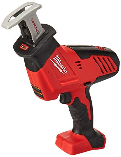 Home Depot Reciprocating Saw - Bare-Tool Milwaukee 2625-20 M18 18-Volt Hackzall Cordless One-Handed Reciprocating Saw (Tool Only, No Battery)