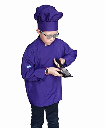 Chefskin Kids Child Chef Outfit includes Jacket Apron & H...